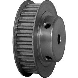 30 Tooth Timing Pulley, (Htd) 5mm Pitch, Clear Anodized Aluminum, 30-5m09-6fa3 - Min Qty 5