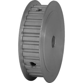 """30 Tooth Timing Pulley, (Xl) 1/5"""" Pitch, Clear Anodized Aluminum, 30xl037-3fa4 - Min Qty 5"""