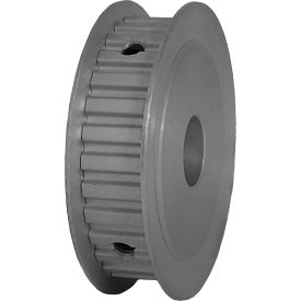 """30 Tooth Timing Pulley, (Xl) 1/5"""" Pitch, Clear Anodized Aluminum, 30xl037-3fa6 - Min Qty 5"""