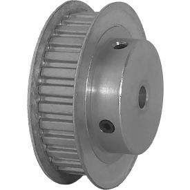"""30 Tooth Timing Pulley, (Xl) 1/5"""" Pitch, Clear Anodized Aluminum, 30xl037-6fa3 - Min Qty 5"""