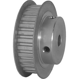 """30 Tooth Timing Pulley, (Xl) 1/5"""" Pitch, Clear Anodized Aluminum, 30xl037-6fa4 - Min Qty 5"""