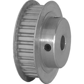 """30 Tooth Timing Pulley, (Xl) 1/5"""" Pitch, Clear Anodized Aluminum, 30xl037-6fa5 - Min Qty 5"""