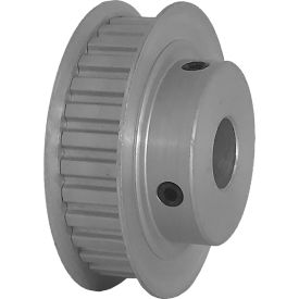 """30 Tooth Timing Pulley, (Xl) 1/5"""" Pitch, Clear Anodized Aluminum, 30xl037-6fa6 - Min Qty 5"""