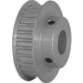 """30 Tooth Timing Pulley, (Xl) 1/5"""" Pitch, Clear Anodized Aluminum, 30xl037-6fa7 - Min Qty 5"""