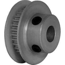 32 Tooth Timing Pulley, (Pwrgrip Gt) 2mm Pitch, Clear Anodized Aluminum, 32-2p03-6fa3 - Min Qty 5
