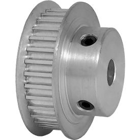 32 Tooth Timing Pulley, (Htd) 3mm Pitch, Clear Anodized Aluminum, 32-3m06-6fa3 - Min Qty 5