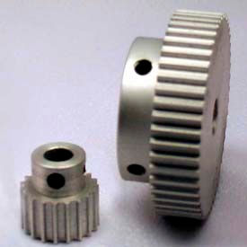32 Tooth Timing Pulley, (Htd) 3mm Pitch, Clear Anodized Aluminum, 32-3m06m6a6 - Min Qty 8