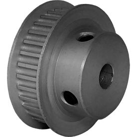 32 Tooth Timing Pulley, (Htd) 3mm Pitch, Clear Anodized Aluminum, 32-3m06m6fa6 - Min Qty 5