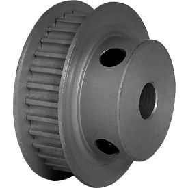 32 Tooth Timing Pulley, (Pwrgrip Gt) 3mm Pitch, Clear Anodized Aluminum, 32-3p06-6fa3 - Min Qty 8