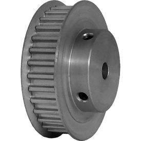 32 Tooth Timing Pulley, (Htd) 5mm Pitch, Clear Anodized Aluminum, 32-5m09-6fa3 - Min Qty 4