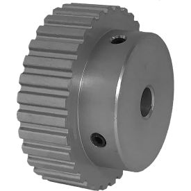 """32 Tooth Timing Pulley, (Xl) 1/5"""" Pitch, Clear Anodized Aluminum, 32xl037-6a4 - Min Qty 5"""