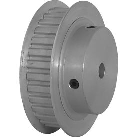 """32 Tooth Timing Pulley, (Xl) 1/5"""" Pitch, Clear Anodized Aluminum, 32xl037-6fa3 - Min Qty 5"""