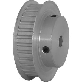 """32 Tooth Timing Pulley, (Xl) 1/5"""" Pitch, Clear Anodized Aluminum, 32xl037-6fa4 - Min Qty 5"""