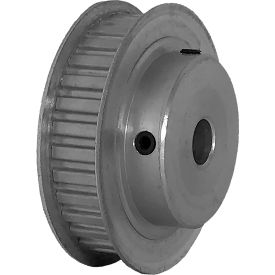 "32 Tooth Timing Pulley, (Xl) 1/5"" Pitch, Clear Anodized Aluminum, 32xl037-6fa5 - Min Qty 5"