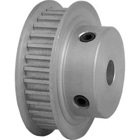 34 Tooth Timing Pulley, (Htd) 3mm Pitch, Clear Anodized Aluminum, 34-3m06-6fa3 - Min Qty 5