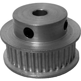 34 Tooth Timing Pulley, (Htd) 3mm Pitch, Clear Anodized Aluminum, 34-3m09-6fa3 - Min Qty 5