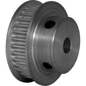 34 Tooth Timing Pulley, (Pwrgrip Gt) 3mm Pitch, Clear Anodized Aluminum, 34-3p06-6fa3 - Min Qty 5