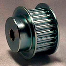 34 Tooth Timing Pulley, (Htd) 5mm Pitch, Clear Zinc Plated Steel, 34-5m15-6fs6 - Min Qty 2