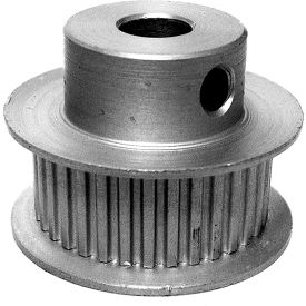 34 Tooth Timing Pulley, (Lt) 0.0816 Pitch, Clear Anodized Aluminum, 34lt312-6fa3 - Min Qty 8