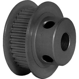 36 Tooth Timing Pulley, (Pwrgrip Gt) 2mm Pitch, Clear Anodized Aluminum, 36-2p06-6fa3 - Min Qty 8