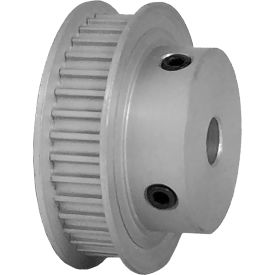 36 Tooth Timing Pulley, (Htd) 3mm Pitch, Clear Anodized Aluminum, 36-3m06-6fa3 - Min Qty 5