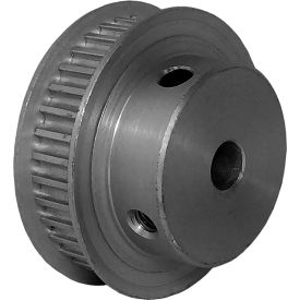 36 Tooth Timing Pulley, (Htd) 3mm Pitch, Clear Anodized Aluminum, 36-3m06m6fa6 - Min Qty 5