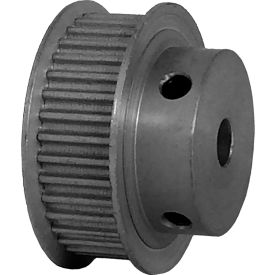 36 Tooth Timing Pulley, (Htd) 3mm Pitch, Clear Anodized Aluminum, 36-3m09-6fa3 - Min Qty 5