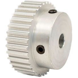 36 Tooth Timing Pulley, (Pwrgrip Gt) 3mm Pitch, Clear Anodized Aluminum, 36-3p06-6a3 - Min Qty 5