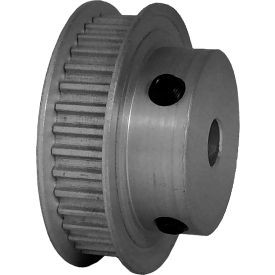 36 Tooth Timing Pulley, (Pwrgrip Gt) 3mm Pitch, Clear Anodized Aluminum, 36-3p06-6fa3 - Min Qty 5