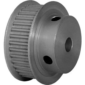 36 Tooth Timing Pulley, (Pwrgrip Gt) 3mm Pitch, Clear Anodized Aluminum, 36-3p09-6fa3 - Min Qty 5