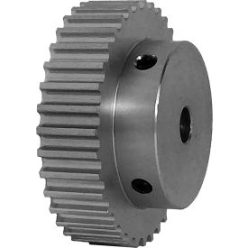 36 Tooth Timing Pulley, (Htd) 5mm Pitch, Clear Anodized Aluminum, 36-5m09-6a4 - Min Qty 4