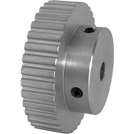 """36 Tooth Timing Pulley, (Xl) 1/5"""" Pitch, Clear Anodized Aluminum, 36xl037-6a4 - Min Qty 5"""