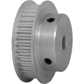 38 Tooth Timing Pulley, (Htd) 3mm Pitch, Clear Anodized Aluminum, 38-3m06-6fa3 - Min Qty 5