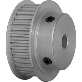 38 Tooth Timing Pulley, (Htd) 3mm Pitch, Clear Anodized Aluminum, 38-3m09-6fa3 - Min Qty 5