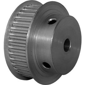 38 Tooth Timing Pulley, (Htd) 3mm Pitch, Clear Anodized Aluminum, 38-3m09m6fa6 - Min Qty 5