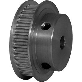 38 Tooth Timing Pulley, (Pwrgrip Gt) 3mm Pitch, Clear Anodized Aluminum, 38-3p06-6fa3 - Min Qty 5