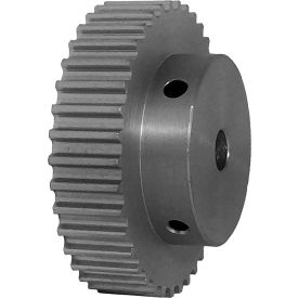 38 Tooth Timing Pulley, (Htd) 5mm Pitch, Clear Anodized Aluminum, 38-5m09-6a4 - Min Qty 3