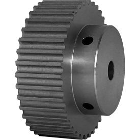 38 Tooth Timing Pulley, (Htd) 5mm Pitch, Clear Anodized Aluminum, 38-5m15-6a4 - Min Qty 3