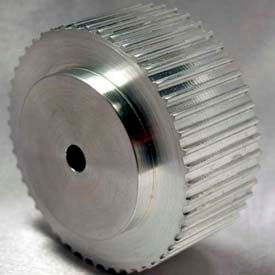 48 Tooth Timing Pulley, At 5mm Pitch, Aluminum, 38AT5/48-0