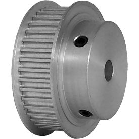40 Tooth Timing Pulley, (Htd) 3mm Pitch, Clear Anodized Aluminum, 40-3m09-6fa3 - Min Qty 5