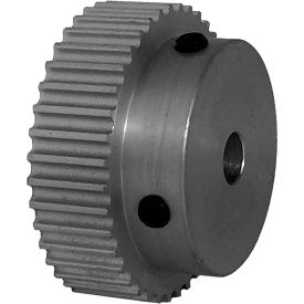 40 Tooth Timing Pulley, (Pwrgrip Gt) 3mm Pitch, Clear Anodized Aluminum, 40-3p06-6a3 - Min Qty 5