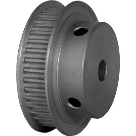 40 Tooth Timing Pulley, (Pwrgrip Gt) 3mm Pitch, Clear Anodized Aluminum, 40-3p06-6fa3 - Min Qty 5
