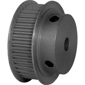 40 Tooth Timing Pulley, (Pwrgrip Gt) 3mm Pitch, Clear Anodized Aluminum, 40-3p09-6fa3 - Min Qty 5