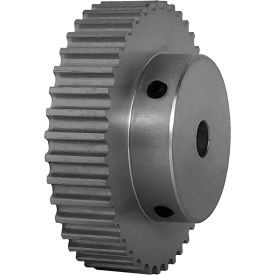 40 Tooth Timing Pulley, (Htd) 5mm Pitch, Clear Anodized Aluminum, 40-5m09-6a4 - Min Qty 3