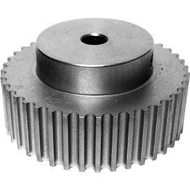 40 Tooth Timing Pulley, (Htd) 5mm Pitch, Clear Anodized Aluminum, 40-5m15-6a4 - Min Qty 3