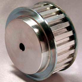 40 Tooth Timing Pulley, T 10mm Pitch, Aluminum, 40T10/40-2