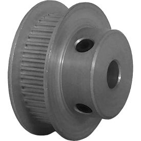 42 Tooth Timing Pulley, (Pwrgrip Gt) 2mm Pitch, Clear Anodized Aluminum, 42-2p06-6fa3 - Min Qty 5