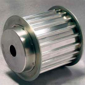 22 Tooth Timing Pulley, At 10mm Pitch, Aluminum, 42AT10/22-2