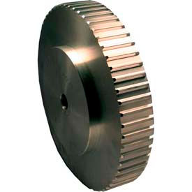 48 Tooth Timing Pulley, At 10mm Pitch, Aluminum, 42AT10/48-0