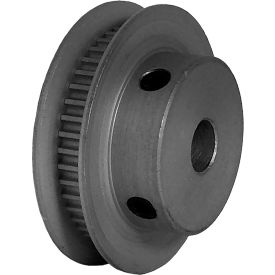 44 Tooth Timing Pulley, (Pwrgrip Gt) 2mm Pitch, Clear Anodized Aluminum, 44-2p03-6fa3 - Min Qty 5